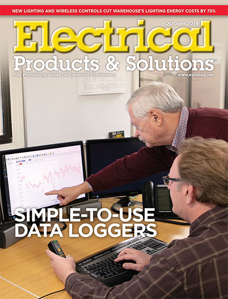 AEMC Instruments Electrical Products and Solutions cover story Simple-to-use Data Loggers