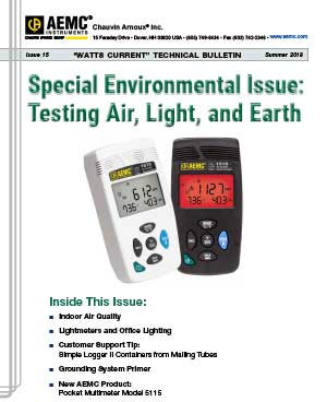 AEMC Tech Bulletin Issue 20 - Megohmmeter Insulation Testing after Water Damage 6424