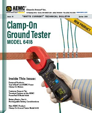 AEMC Tech Bulletin Issue 18 - Clamp-On Ground Tester