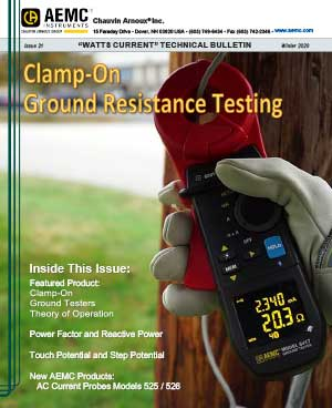 AEMC Tech Bulletin Issue 21 - Clamp-On Ground Resistance Testing