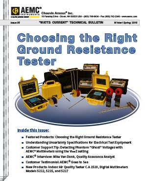 Choosing the Right Ground Resistance Tester